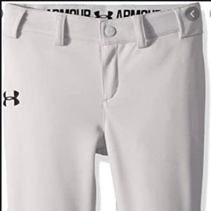 50%OFF SALE Under armour softball pant girls YXS